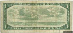 1 Dollar CANADA  1954 P.075b TB
