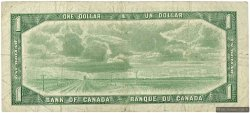 1 Dollar CANADA  1954 P.075c TB