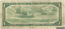 1 Dollar CANADA  1954 P.075d B+