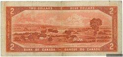 2 Dollars CANADA  1954 P.076a TB