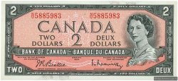 2 Dollars CANADA  1954 P.076b pr.NEUF