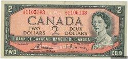 2 Dollars CANADA  1954 P.076c TTB