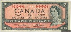 2 Dollars CANADA  1954 P.076d TB+