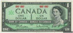1 Dollar CANADA  1967 P.084a TTB+