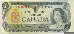 1 Dollar CANADA  1973 P.085a TTB