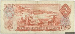 2 Dollars CANADA  1974 P.086a B+