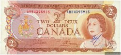 2 Dollars CANADA  1974 P.086b TTB