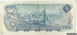5 Dollars CANADA  1972 P.087b TTB