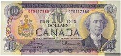 10 Dollars CANADA  1971 P.088b TTB+