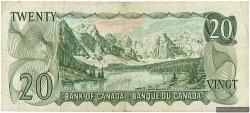 20 Dollars CANADA  1969 P.089b TTB