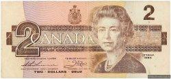 2 Dollars CANADA  1986 P.094b TB