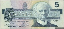 5 Dollars CANADA  1986 P.095a2 TTB