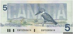 5 Dollars CANADA  1986 P.095a2 pr.SPL