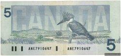 5 Dollars CANADA  1986 P.095c TTB