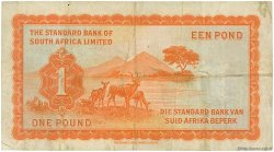 1 Pound AFRIQUE DU SUD OUEST  1958 P.11 TB