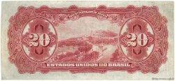 20 Mil Reis BRÉSIL  1926 P.104 TB à TTB