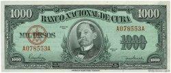1000 Pesos CUBA  1950 P.084 SPL