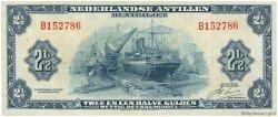 2,5 Gulden ANTILLES NÉERLANDAISES  1964 P.A01b TTB