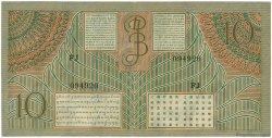 10 Gulden INDES NEERLANDAISES  1946 P.089 SUP