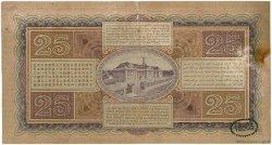 25 Gulden INDES NEERLANDAISES  1931 P.071c TTB