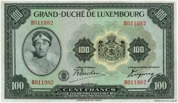 100 Francs LUXEMBOURG  1934 P.39a TTB+