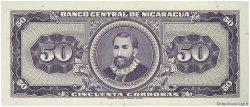 50 Cordobas NICARAGUA  1968 P.119a NEUF
