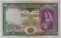 1000 Escudos PORTUGAL  1956 P.161 SUP+