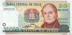 20000 Pesos CHILI  2008 P.159b NEUF
