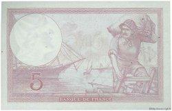5 Francs VIOLET modifié FRANCE  1939 F.04.09 SUP+