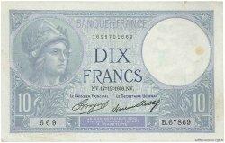 10 Francs MINERVE FRANCE  1936 F.06.17 TB+