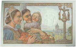20 Francs PÊCHEUR FRANCE  1943 F.13.05 pr.NEUF