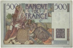 500 Francs CHATEAUBRIAND FRANCE  1945 F.34.03 pr.SUP