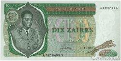 10 Zaïres ZAÏRE  1981 P.24b pr.NEUF
