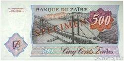 500 Zaïres ZAÏRE  1984 P.30s1 NEUF