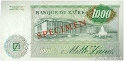 1000 Zaïres ZAÏRE  1985 P.31s SPL+