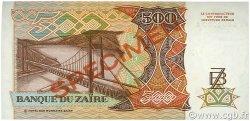 500 Zaïres ZAÏRE  1989 P.34s pr.NEUF