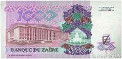 1000 Zaïres ZAÏRE  1989 P.35a