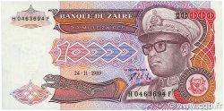 10000 Zaïres ZAÏRE  1989 P.38a SPL