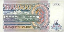100000 Zaïres ZAÏRE  1992 P.41a SPL