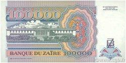 100000 Zaïres ZAÏRE  1992 P.41a NEUF