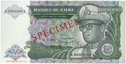 100000 Zaïres ZAÏRE  1992 P.41s NEUF