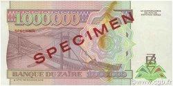 1000000 Zaïres ZAÏRE  1993 P.45s2 SPL