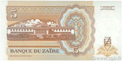 5 Nouveaux Zaïres ZAÏRE  1993 P.53a NEUF
