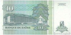 10 Nouveaux Zaïres ZAÏRE  1993 P.54a NEUF