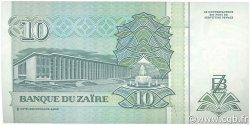 10 Nouveaux Zaïres ZAÏRE  1993 P.55 NEUF