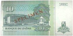 10 Nouveaux Zaïres ZAÏRE  1993 P.54s pr.NEUF