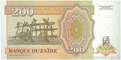 200 Nouveaux Zaïres ZAÏRE  1994 P.62a NEUF