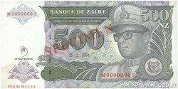 500 Nouveaux Zaïres ZAÏRE  1994 P.64s SPL