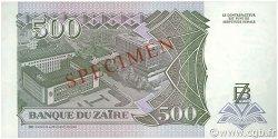 500 Nouveaux Zaïres ZAÏRE  1994 P.64s pr.NEUF