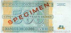500 Nouveaux Zaïres ZAÏRE  1995 P.65s pr.NEUF
